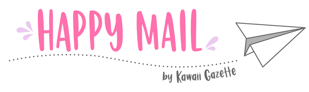 HAPPY MAIL, la newsletter di Kawaii Gazette
