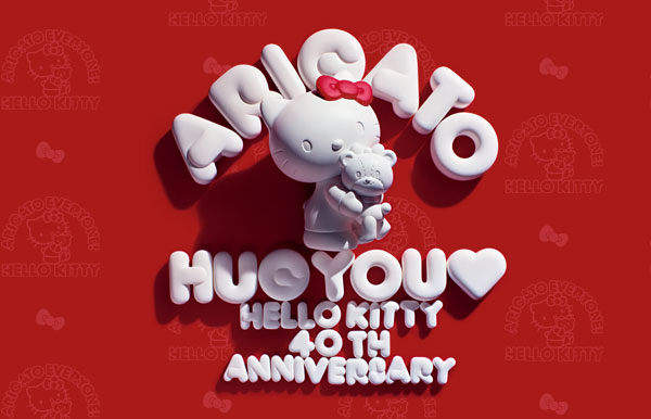 Hello Kitty 40th anniversary