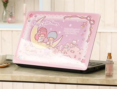 Kawaii Tech Little Twin Stars Laptop Kawaii Gazette