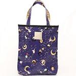 Sentimental Circus night blue sky handbag
