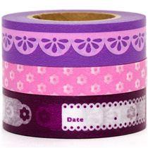 Purple & Pink washi tape at Modes4U