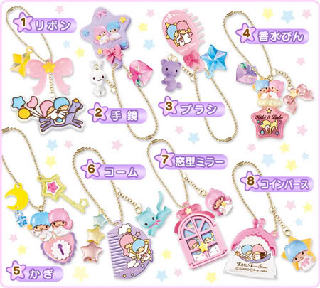 Kiki e Lala Fashion Charms