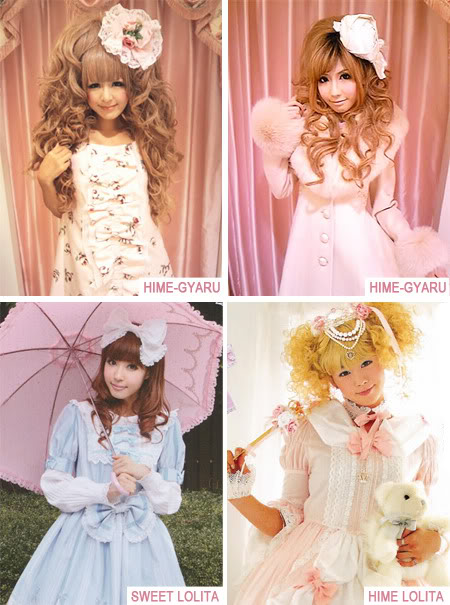Hime-Gyary vs Gothic Lolita
