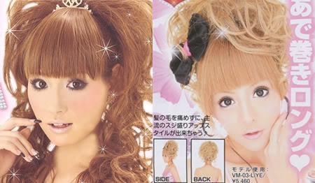 Hyme-Gyaru makeup